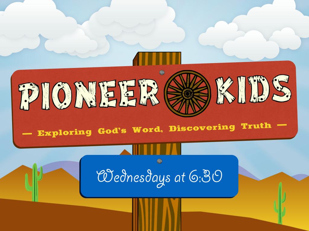 Pioneer Kids Logo